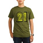 21! 21st Birthday Gifts! Organic Men's T-Shirt (da