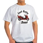 Just Gotta Scoot Reflex Ash Grey T-Shirt