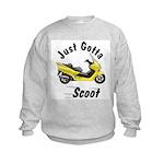 Just Gotta Scoot Reflex Kids Sweatshirt