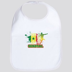 Football Worldcup Senegal Senegalese Soc Baby Bib