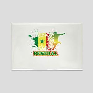 Football Worldcup Senegal Senegalese Socc Magnets