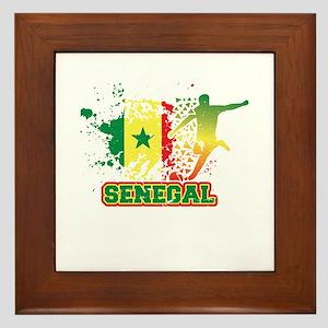 Football Worldcup Senegal Senegalese Framed Tile