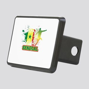 Football Worldcup Senegal Rectangular Hitch Cover