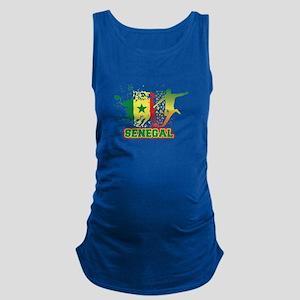 Football Worldcup Senegal Senegalese Soc Tank Top