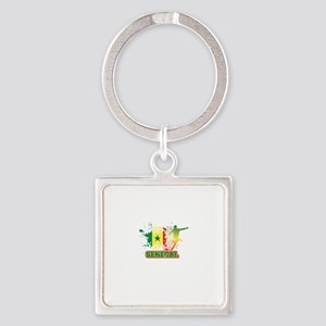 Football Worldcup Senegal Senegalese So Keychains
