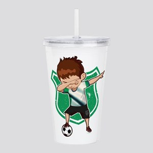Football Dab Nigeria N Acrylic Double-wall Tumbler