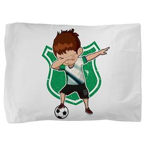 Football Dab Nigeria Nigerian Football Pillow Sham