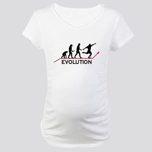 Soccer Evolution Maternity T-Shirt