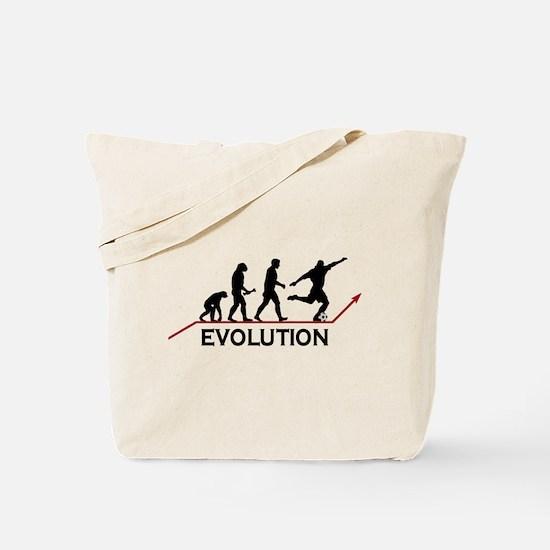 Soccer Evolution Tote Bag