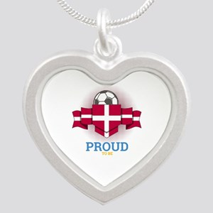 Football Danes Denmark Soccer Team Sport Necklaces