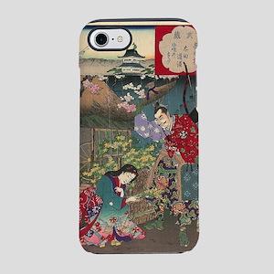 Japanese Beautiful Geisha Samu iPhone 7 Tough Case