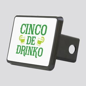 Cinco De Drinko Rectangular Hitch Cover