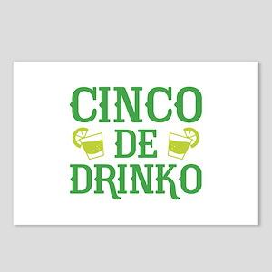 Cinco De Drinko Postcards (Package of 8)