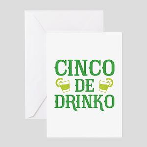 Cinco De Drinko Greeting Card