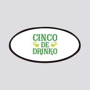 Cinco De Drinko Patches