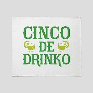 Cinco De Drinko Stadium Blanket