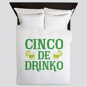 Cinco De Drinko Queen Duvet