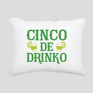 Cinco De Drinko Rectangular Canvas Pillow