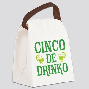 Cinco De Drinko Canvas Lunch Bag