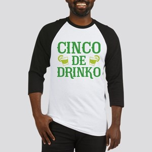Cinco De Drinko Baseball Jersey