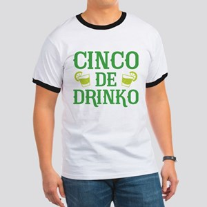 Cinco De Drinko Ringer T