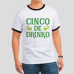Cinco De Drinko Ringer T