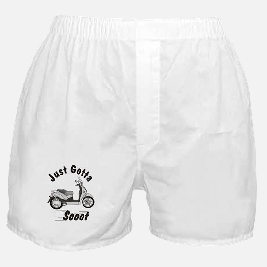 Just Gotta Scoot People 250 Boxer Shorts
