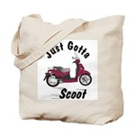 Just Gotta Scoot People 250 Tote Bag