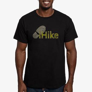 iHike Men's Fitted T-Shirt (dark)