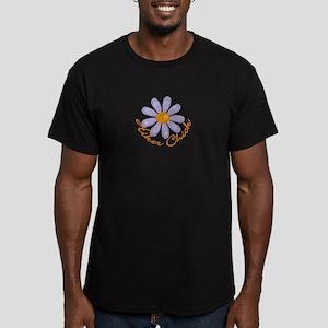 Hiker Chick Men's Fitted T-Shirt (dark)