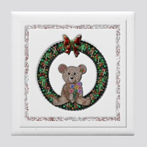 *TEDDY BEAR'S CHRISTMAS! Coaster