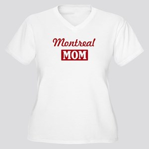 Montreal Mom Women's Plus Size V-Neck T-Shirt
