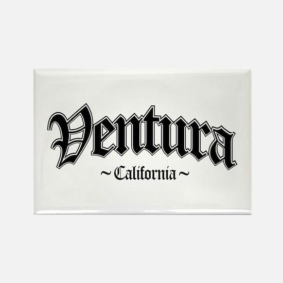 Ventura California Rectangle Magnet