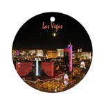 Las Vegas Nights - Holiday Ornament Round