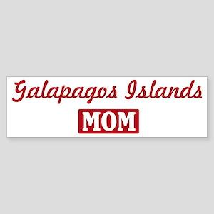Galapagos Islands Mom Bumper Sticker