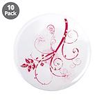 """Swirls & Twirls 3.5"""" Button (10 pack)"""