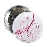 """Swirls & Twirls 2.25"""" Button (10 pack)"""