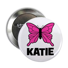 "KATIE - Butterfly 2.25"" Button"