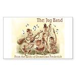 Jug Band Rectangle Sticker