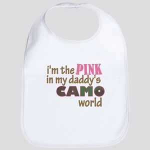 Camo World Bib