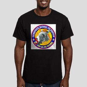 HAIR-ON-FIRE RHETORIC Men's Fitted T-Shirt (dark)
