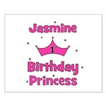 1st Birthday Princess Jasmine Small Poster