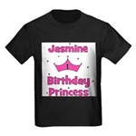 1st Birthday Princess Jasmine Kids Dark T-Shirt