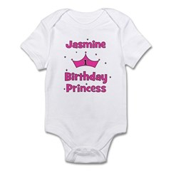 1st Birthday Princess Jasmine Infant Bodysuit