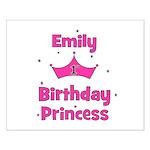1st Birthday Princess Emily! Small Poster