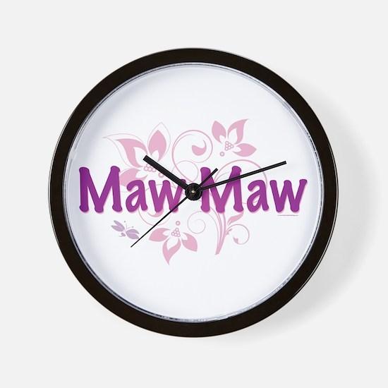 Maw Maw Wall Clock