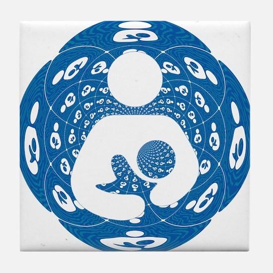 IBFS Kaleidoscope #2 Tile Coaster