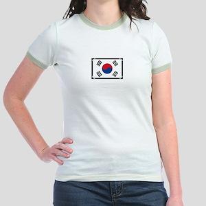 Taped flag Jr. Ringer T-Shirt