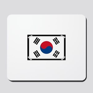 Taped flag Mousepad