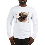dusty_golden_retriever_8X10 Long Sleeve T-Shirt